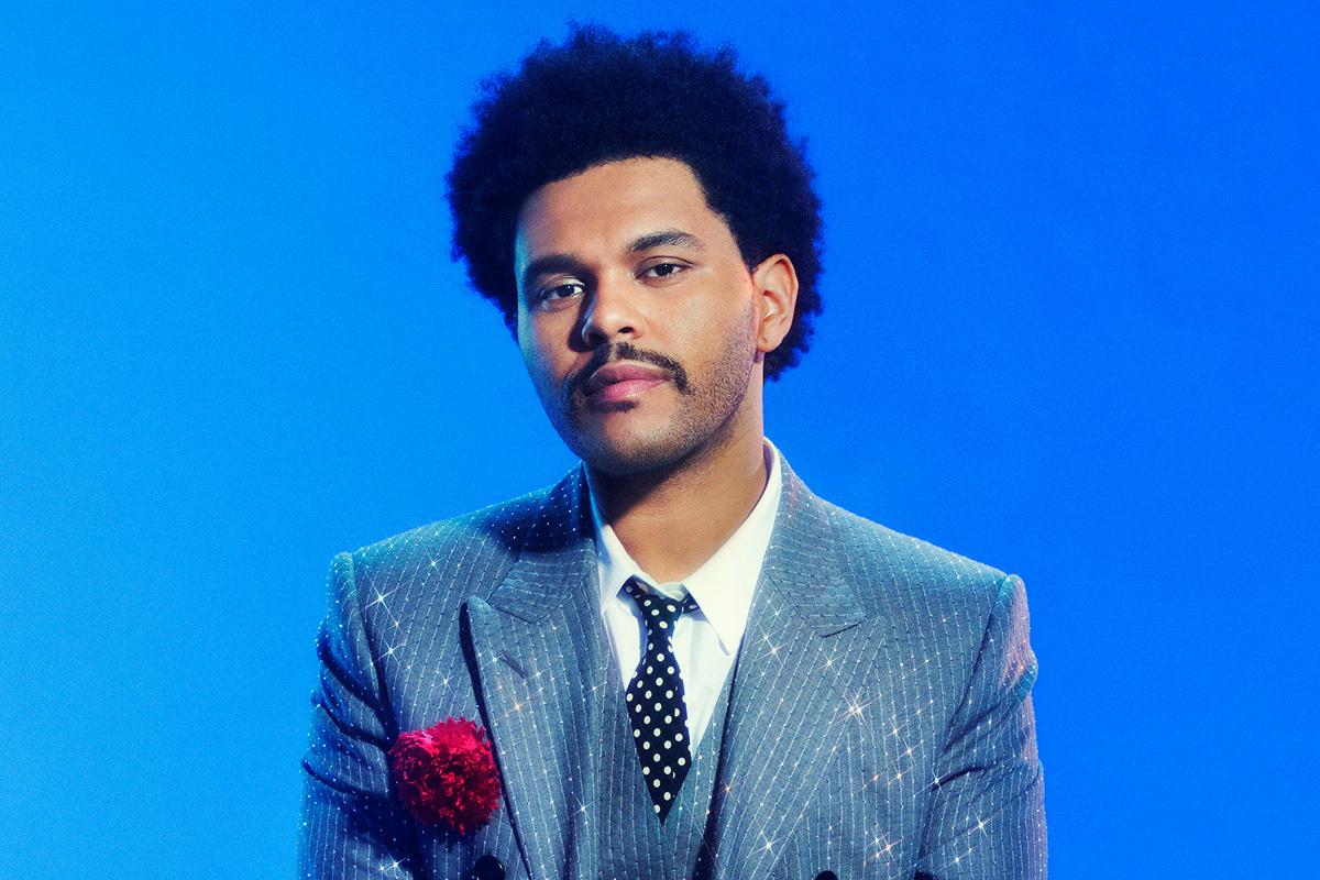 Певец The Weeknd